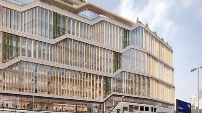 Google Hoofdkwartier Londen : Nieuw ontwerp google hoofdkantoor londen facade360