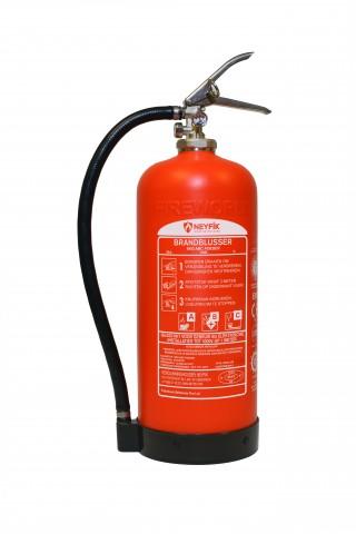 Brandblusser - 6KG - Poeder - Neyfik #Voorkant